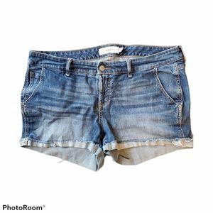 Torrid medium wash  jean shorts size 16